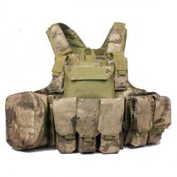 Ciras MAR gilet d'assaut porte plaques avec poches MOLLE Kryptech Highlands