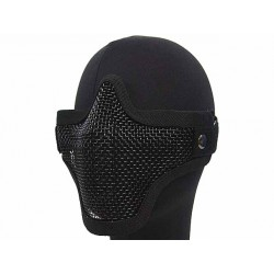 Mesh Mask Airsoft Stalker Style Shadow Black