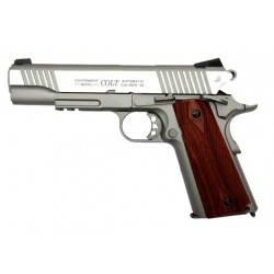 Colt 1911 avec rail- Inox - CO2 - Cybergun
