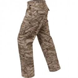 Pantalon de treillis digital desert coupe BDU
