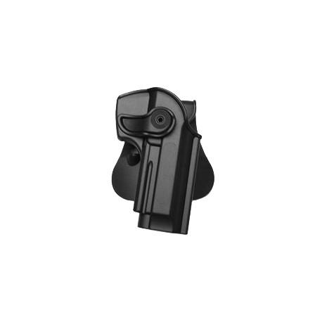 Holster rigide Roto pour Beretta 92 / 96 et M9 avec support pour ceinturon, noir