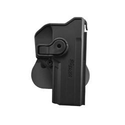 Holster rigide Roto pour Sig Sauer P226 avec support pour ceinturon, noir