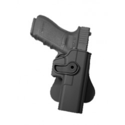 Polymer Retention Roto Holster for GLOCK 17/22/31 with belt support Black