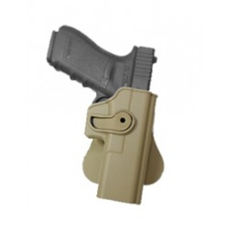 Polymer Retention Roto Holster for GLOCK 17/22/31 with belt support TAN