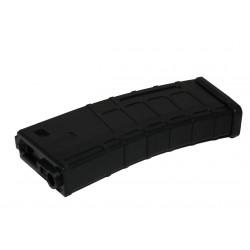 M4 M16 Hi-cap PMAG type plastic 300 BBs Magazine black