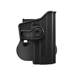 Holster rigide Roto pour SIG SAUER P229 avec support pour ceinturon, noir