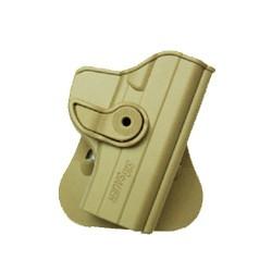 Holster rigide Roto pour SIG SAUER P229 avec support pour ceinturon, tan