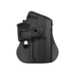 Holster rigide Roto pour H&K USP COMPACT avec support pour ceinturon, noir