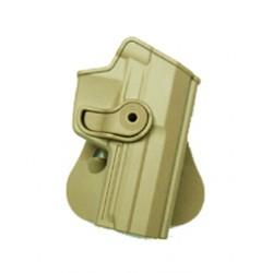 Holster rigide Roto pour H&K USP avec support pour ceinturon, tan