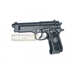 M92F - M9 noir réplique à ressort [ Spring ] + Offert : Grenade Biberon de Billes