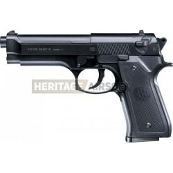 Beretta M92 F culasse métal noir [Spring ] + Offert : Grenade Biberon de Billes