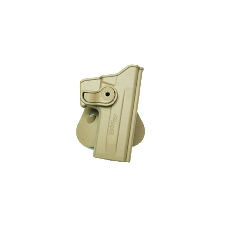 Polymer Retention Roto Holster for Sog Sauer P226 with belt suport tan
