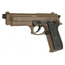 Taurus PT92 désert réplique d'airsoft à ressort [ Spring ] + Offert : Grenade Biberon de Billes