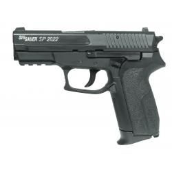 Sig Sauer P2022 réplique d'airsoft à ressort - Cybergun [ Spring ] + Offert : Grenade Biberon de Billes