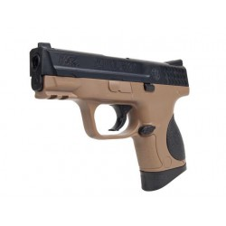 Smith & Wesson M&P 9C Dual Tone sable et noir réplique à ressort [ Spring ] NPU