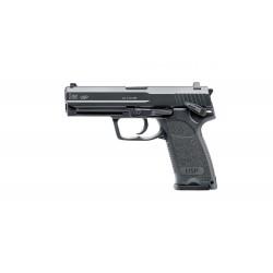 Réplique de pistolet d'airsoft type H&K USP CO2 culasse mobile - Umarex