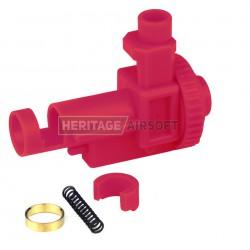 Bloc hop up - M4 M16 - plastique à réglage concentrique avec joint hop up rouge