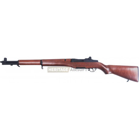 r plique d 39 airsoft de fusil m1 garand lectrique aeg a k heritage airsoft. Black Bedroom Furniture Sets. Home Design Ideas