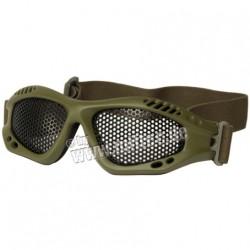 Lunettes airsoft grillage homologue CE de protection pour l'airsoft - Olive - Viper