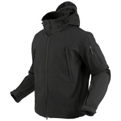 Blouson d'airsoft Soft shell Summit - Noir - Condor