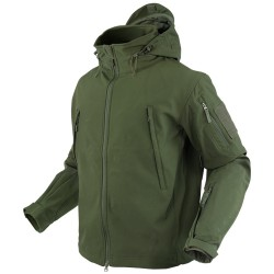 Blouson d'airsoft Soft shell Summit - Olive - Condor