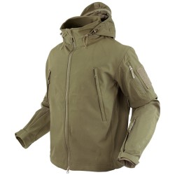 Blouson d'airsoft Soft shell Summit - Tan - Condor