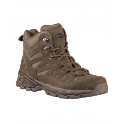 Chaussures tactiques basses marron