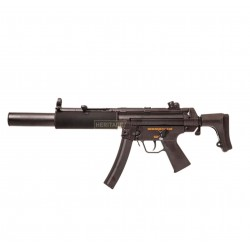Réplique longue d'airsoft MP5 SD6 - AEG - Jing Gong