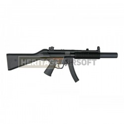 Réplique longue d'airsoft MP5 SD5 - AEG - Jing Gong