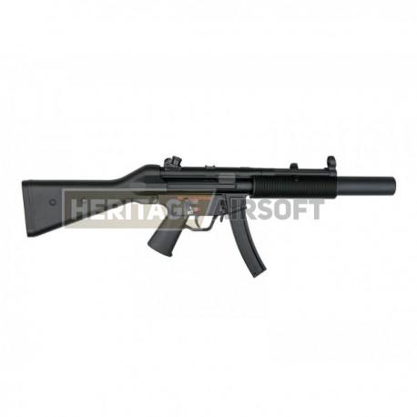 Réplique longue d'airsoft MP5 SD5 - AEG - Jing Gong