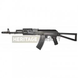 Réplique longue EBB ASK 204P Tactical AK74 Black - AEG - APS
