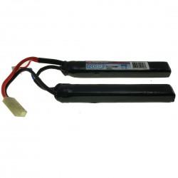 Batterie LiPo - CRANE - 7,4V - 1100 mAh - 18C - Prise Tamiiya
