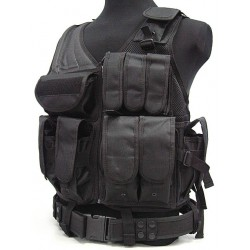 Tactical vest black