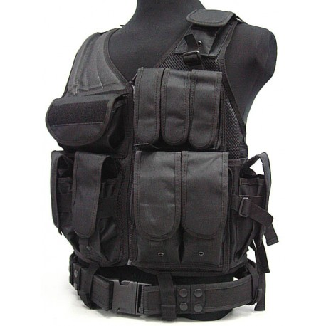 Airsoft gilet tactique