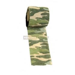 Bande de camouflage auto-adhésive multicamo Tropic 101Inc
