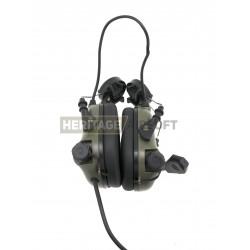 Casque de communication M32H pour casque fast Vert Foliage - Earmor