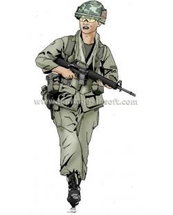 Tenue Airsoft Vietnam (65-75)