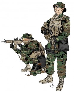 Tenues Airsoft Contemporaines
