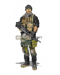 Airsoft loadout: Series and fiction...