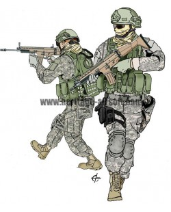 Tenue Airsoft USA