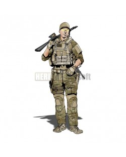 Airsoft loadout various camo