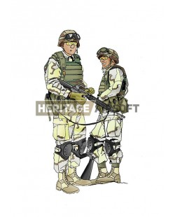 Tenue Airsoft : Ranger Black Hawk Down