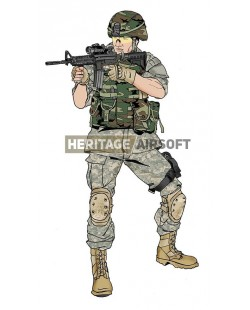 """Airsoft loadout: 1st class Sergeant William James from """"The Hurt Locker"""""""