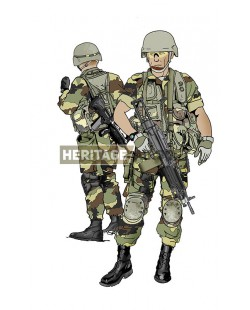 Tenue Airsoft : Troupes France