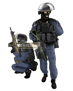 Airsoft loadout: GIGN