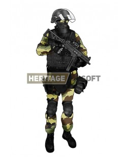 Tenue Airsoft : GIGN sites Seveso