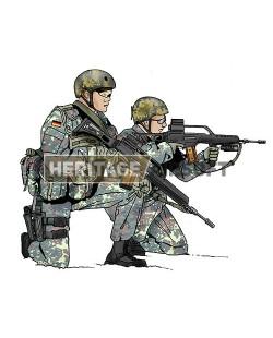 Tenue Airsoft : Forces Spéciales Bundeswehr