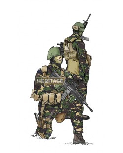 Tenue Airsoft : Commando hollandais DPM