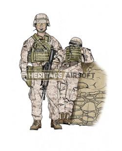 Tenue Airsoft : Marines désert US