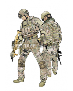 Tenue Airsoft : Multicam Warrior